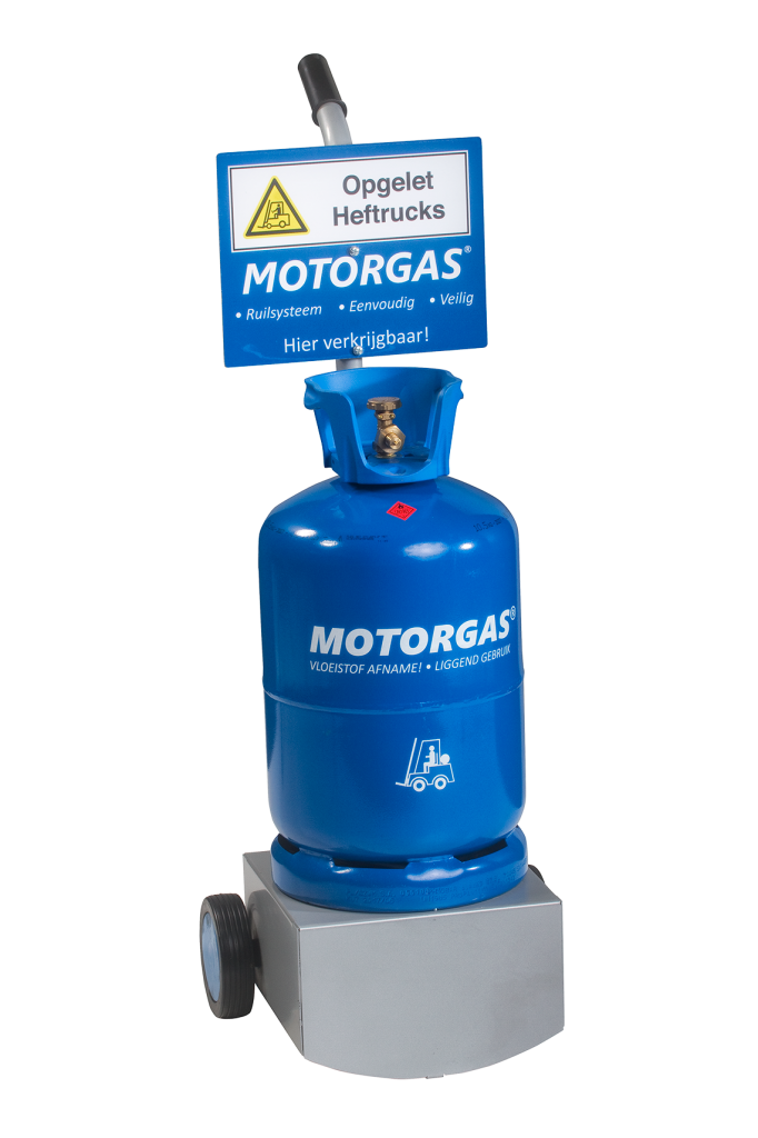display-met-motorgas-gasfles